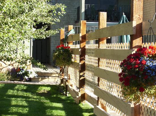 Pony Express Motel: Fence