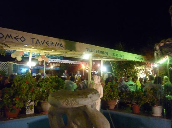 Romeo Garden Taverna: Greek Night