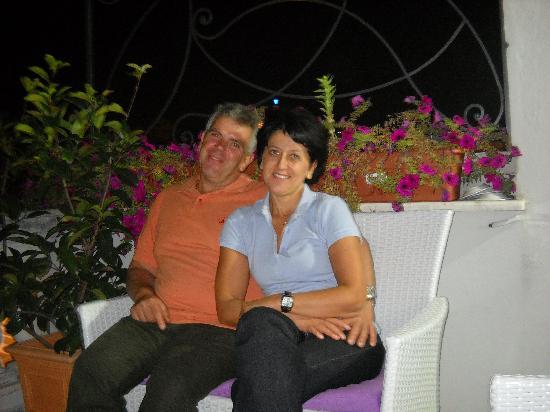 Casa Laviano B&B: Foto su terrazza panoramica