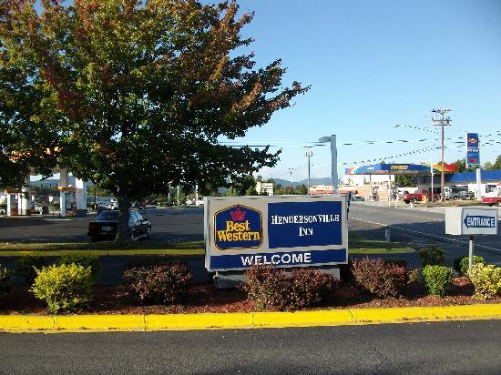 Best Western Hendersonville Inn: Best Western Motel