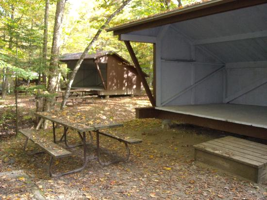 Lean To at Woodford State Park
