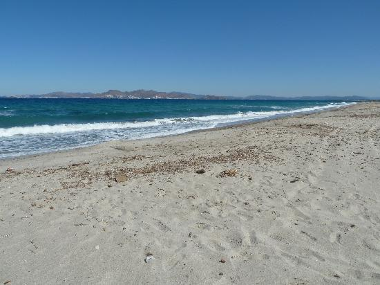 LABRANDA Marine Aquapark Resort: Sandy beach near to hotel (5min walk)