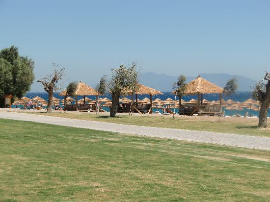 Mitsis Blue Domes Resort & Spa: Hotelstrand