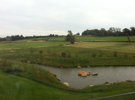 Peak Edge Hotel: the view from our room.
