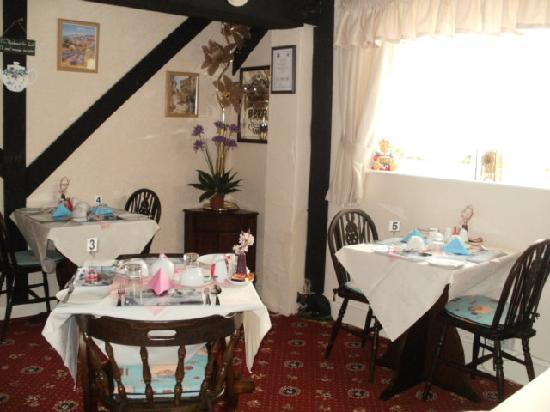 The Inn Place: dinning room
