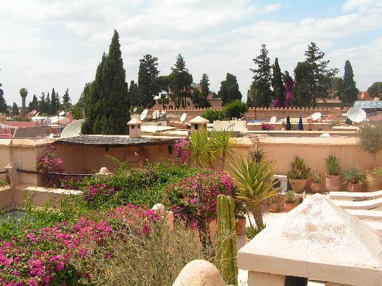 Dar Mouassine : terrasse