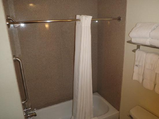 Comfort Suites University: Shower