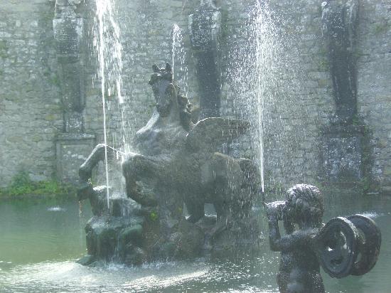 Bagnaia, Italien: Wasserspiele der Villa Lante