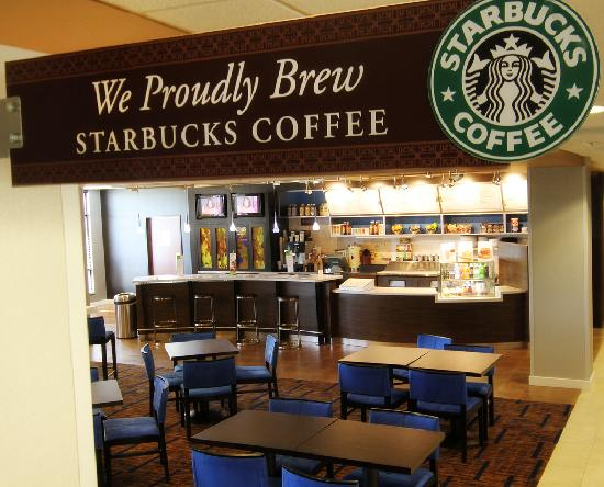Courtyard Fargo Moorhead, MN: We proudly brew Starbucks