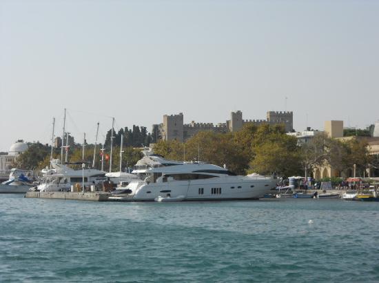 Rodas, Grecia: Harbour view