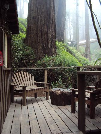 Deetjen's Big Sur Inn: Castro Cabin Patio