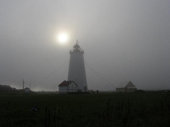 Club Wind & Kite: Miscou Light House.