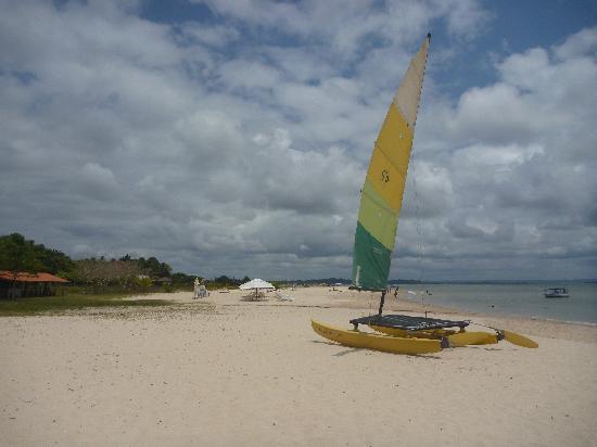 Clube de Vela Morro de Sao Paulo: sailing