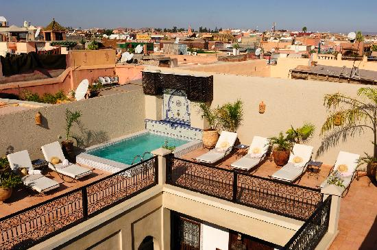 Riad le Clos des Arts: get refreshed in our plunge pool