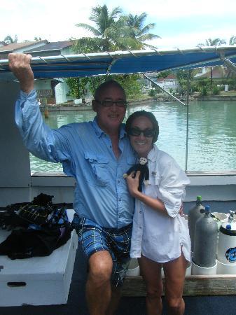 Jolly Dive Center: Paul & Cordelia