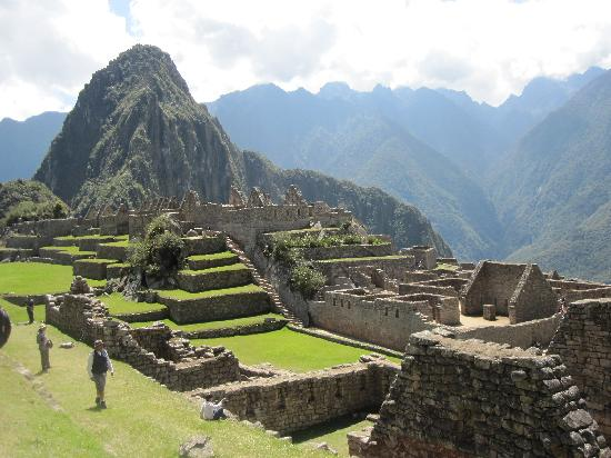 Adventures to Peru: Machu Pichu site was breathtaking