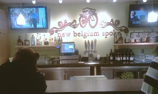 New Belgium Hub Bar & Grill