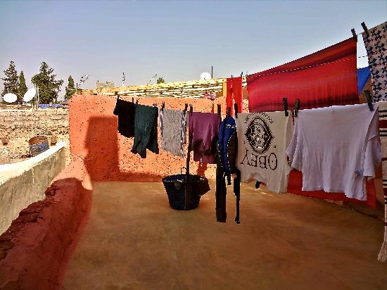 Lost in Marrakech : Quick dry