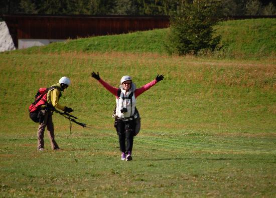 Fly Chamonix - Tandem Paragliding: I did it!