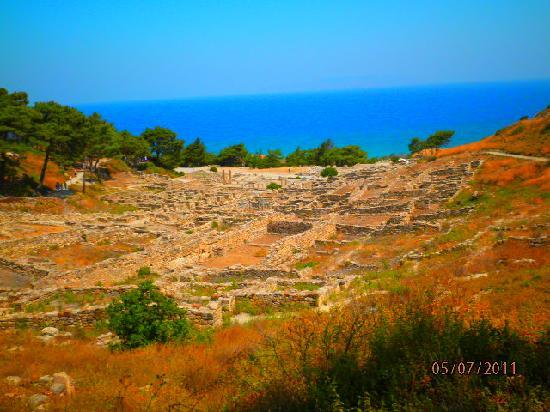 Rhodes, Grækenland: Overview of Kamiros