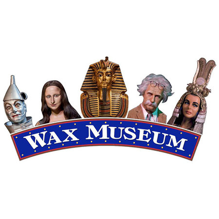 The Wax Museum at Fisherman's Wharf: Wax Museum Welcome Sign