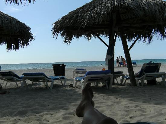 Melia Las Antillas: Playa