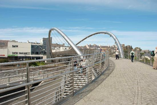 Celtic Gateway Bridge: Unusual in interesting design