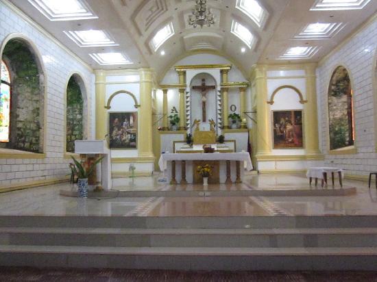 inside the bato church