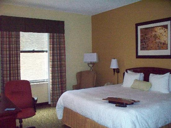 Hampton Inn Indianapolis Downtown Across from Circle Centre: Room