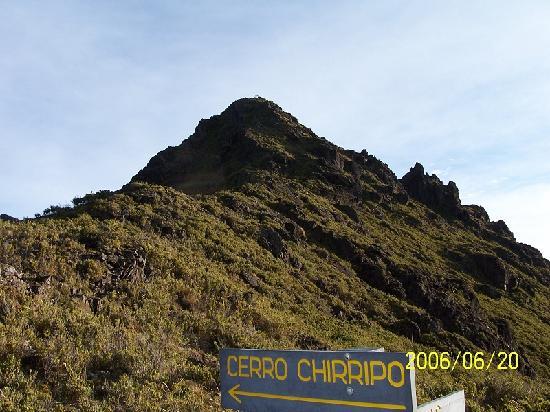 Hotel Uran: Cerro chirripo 3820msnm