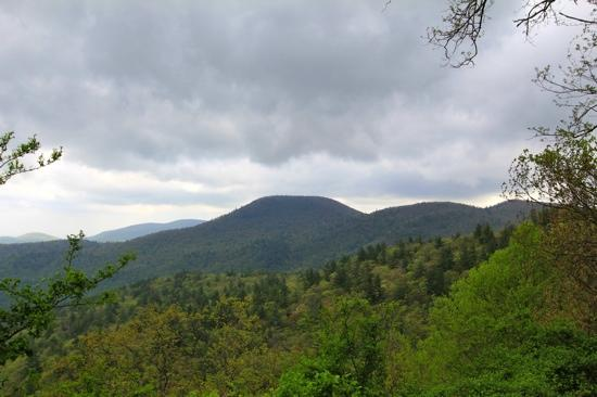 Black Rock Mountain State Park: view
