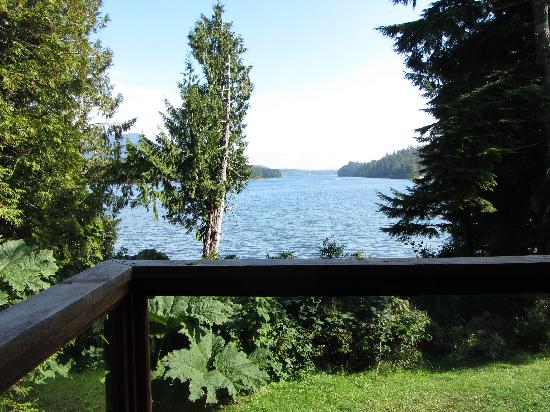 Point West Cottages : Off The Deck