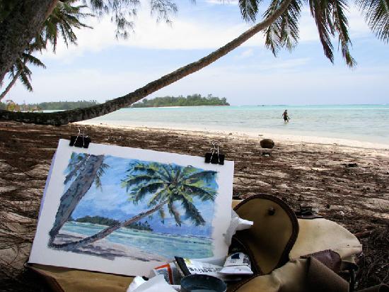 Muri Beach Resort: Picture perfect beach