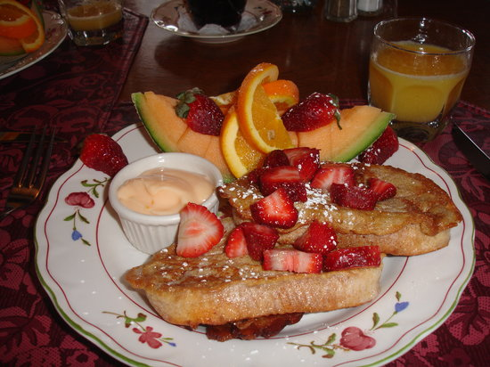 Center Lovell Inn: Delicious Breakfast