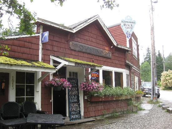 Gumboot Garden: Cute, quaint building.