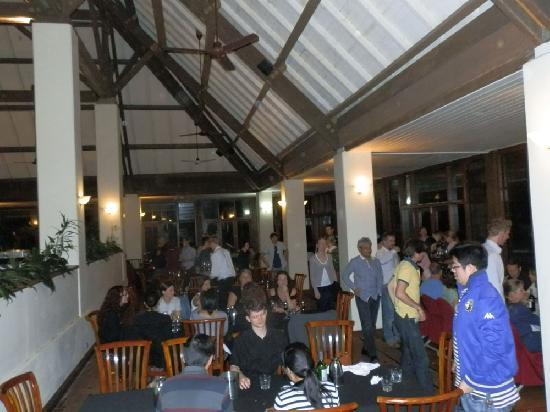 Lindeman Island, Australia: The restaurant