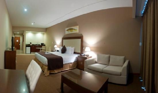 Central Park Hotel: Habitación Deluxe king