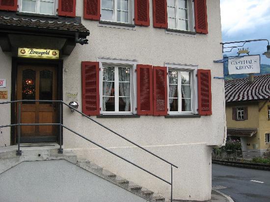 Hotel Krone: Street View