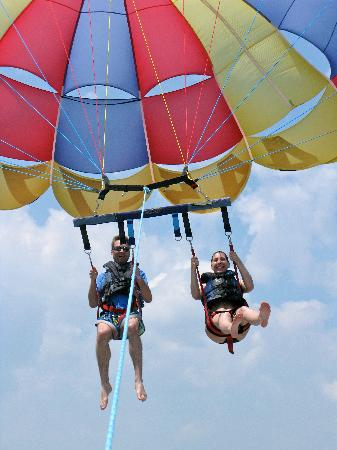 Parasailing Picture Of Ocean Watersports Myrtle Beach Tripadvisor