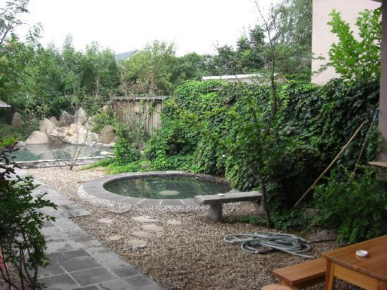 Daheguan: 大和館の露天風呂1