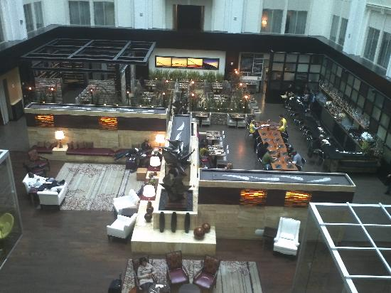 The Nines, a Luxury Collection Hotel, Portland: The gorgeous 8th floor lobby.