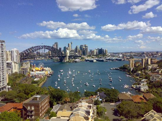 View Of City From Room Picture Of North Sydney Harbourview Hotel