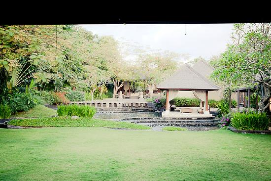 Villa Air Bali Boutique Resort & Spa: View from the restaurant