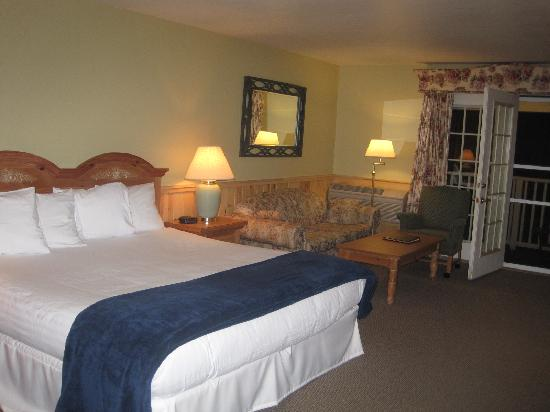 Spruce Point Inn Resort and Spa: Photo of bedroom