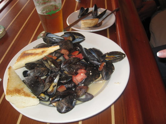 Robinson's Wharf : Mussels