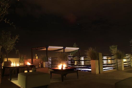 Riad Charlott': Terrasse