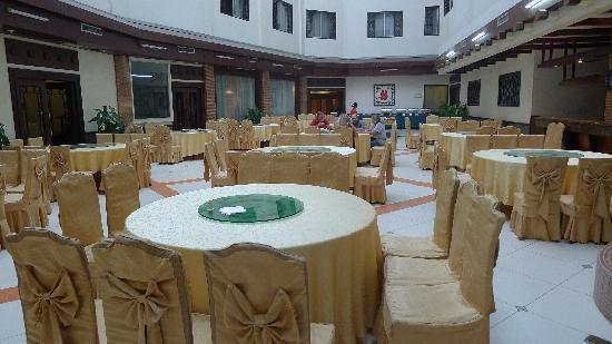 Sovereign Hotel: salle du petit déjeuner