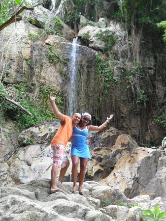 Chaba Cabana Beach Resort: (Secret) Cascada...Las Cascadas son una Maravilla!!!