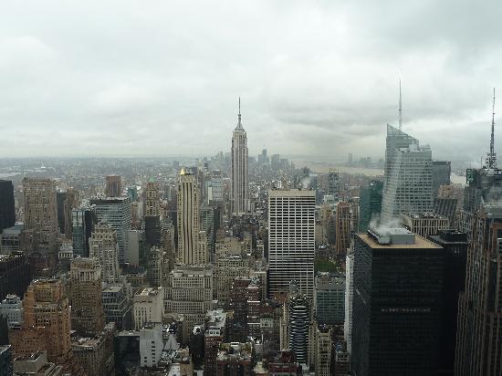 จุดชมวิวท็อปออฟเดอะร็อค: Empire state Building