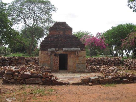Nagarjuna Sagar, Ινδία: Un temple reconstitué